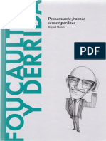 Morey, Miguel - Foucault y Derrida. Pensamiento Francés Contemporáneo