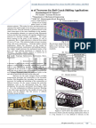 Topology Optimization of Traverser for Rail Coach Shifting Applications