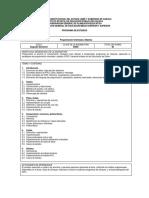 Programa de Estudios Java