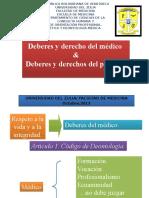 6-Deberes & Derechos Del Médico & Paciente