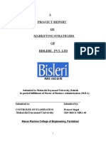321936757 Bisleri Marketing Strategies