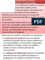 Tema 2 Discapacidad Auditiva