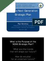 NOAA Next Generation Strategic Plan 2009