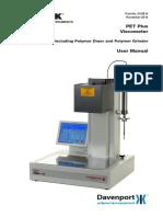 Polymer Testers Petplus IV Measurement Manual