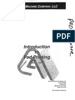 Introduction to Pad Printing