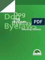Dog Bye Laws