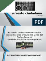 Arresto ciudadano