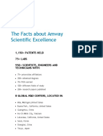 Facts _ Amway Scientific Excellence