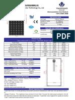 240w-260w Mono Datasheet
