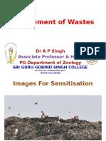 Mgt of Wastes
