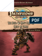 Pathfinder Society the Devil We Know Part III - Crypt of Fools