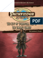 Pathfinder Society the City of Strangers Part I - The Shadow Gambit