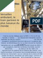 Le RER Paris Versailles