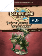 Pathfinder Society the City of Strangers Part II - The Twofold Demise