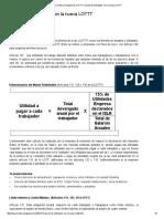 Normativa y Exigencias LOTTT_ Cálculo de Utilidades Con La Nueva LOTTT