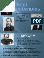 TEORI BAHAVIORIS
