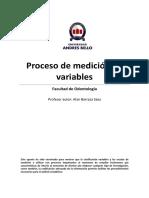 Apunte - Proceso de medición de variables