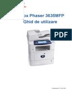 User Guide RO Phaser 3635MFP RO(1)