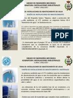 Guía diseño de abastecimiento agua en España