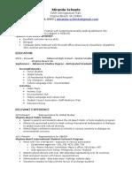 mls resume