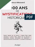 Messadié Gerald - 4000 ans de mystifications historiques.pdf