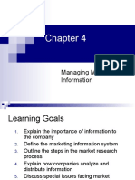 CH04 - Managing Marketing Information