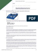 Repairing IKA Heat_stir Plate RTC-b Basic