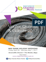 Sligo International Chamber Music Festival 2017