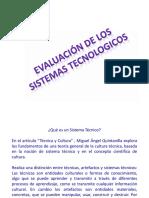 evaluacion sistemas tecnologicos