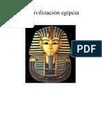La Civilizacion Egipcia