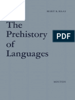 Haas - The Prehistory of Languages (1969)