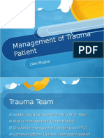 Management of Trauma Patient