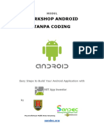 Modul Workshop Android Tanpa Coding