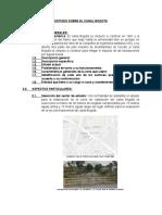 Estudio Sobre El Canal Bogota