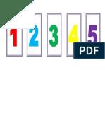 Numeros 1-5 Igualación 2