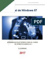 Manual Windows 7 - 2017