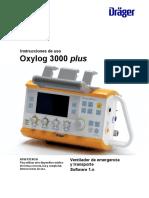5195 - Ventilador de Transporte Pediátrico - Manual de Usuario