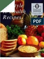 Lifestyle to Health - Vegan Cookbook Recipes, Vegetarian Health Book