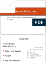 Romanesque Architecture (PPT)