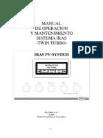 42006 Manual PV Twin Turbo Touchpanel, ESPAÑOL