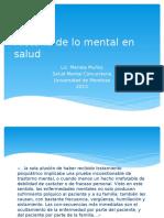 Historia de Lo Mental en Salud