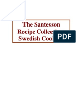 Santesson Recipe Collection Swedish Cooking