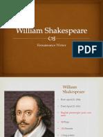 william shakespeare ppt