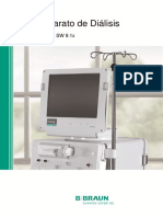 3720 - Máquina de Diálisis - Manual de Usuario