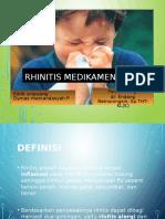 3. Rhinitis Medikamentosa