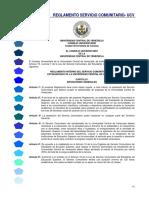 Reglamento Servicio Comunitario UCV