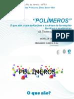 30 10.15 Polímeros o Que São