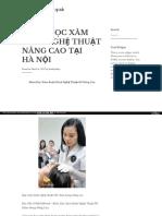 Https Lamdepdahieuquasite Wordpress Com 2017-03-08 Khoa Hoc Xam Hinh Nghe Thuat Nang Cao Tai Ha Noi