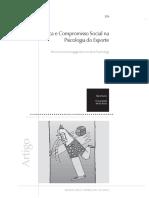 Ética e Compromisso Social Na Psicologia o Esporte