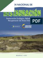 2015-Plan Nacional de Restauración_Colombia